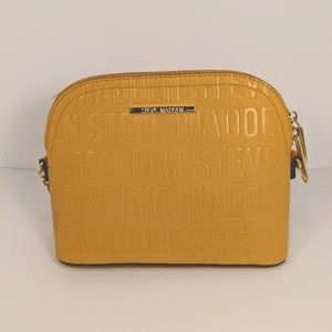 Steve Madden Yellow/Gold Crossbody Bag Gold Chain